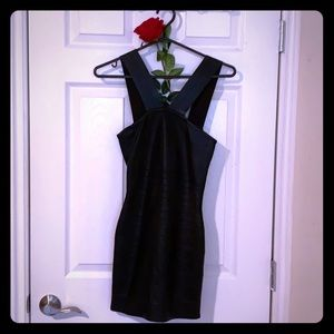 Marciano Sexy Black Party Dress Fits Like a Glove